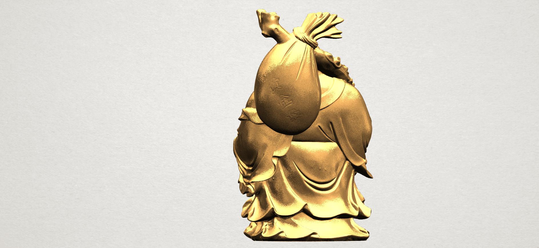 Metteyya Buddha 05 - 88mm - A05.png Télécharger fichier STL gratuit Bouddha Metteyya 05 • Objet imprimable en 3D, GeorgesNikkei