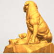 A02.png Download free STL file Dog and Puppy 02 • 3D print design, GeorgesNikkei