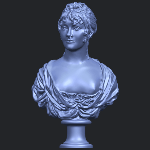 24_TDA0201_Bust_of_a_girl_01B01.png Download free STL file Bust of a girl 01 • Object to 3D print, GeorgesNikkei