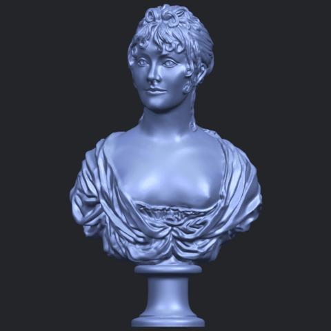 24_TDA0201_Bust_of_a_girl_01B01.png Télécharger fichier STL gratuit Buste d'une fille 01 • Modèle à imprimer en 3D, GeorgesNikkei