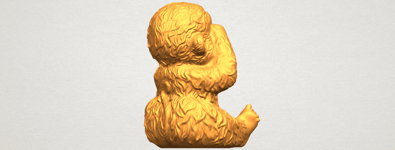 A08.png Download free STL file Monkey A03 • 3D printable model, GeorgesNikkei