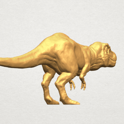 TDA0611 Tyrannosaurus A04.png Download free STL file Tyrannosaurus • 3D printing model, GeorgesNikkei