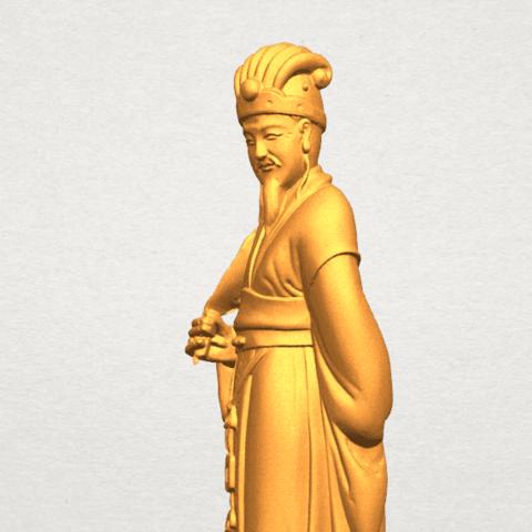 TDA0342 Zhu Ge Liang Kong Ming A08.png Télécharger fichier STL gratuit Zhu Ge Liang Kong Ming Kong Ming • Modèle imprimable en 3D, GeorgesNikkei