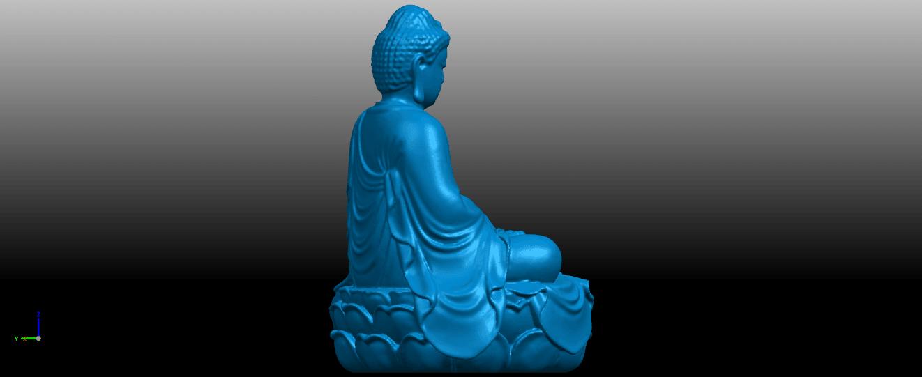 06.png Télécharger fichier STL gratuit Gautama Bouddha 01 • Plan pour impression 3D, GeorgesNikkei