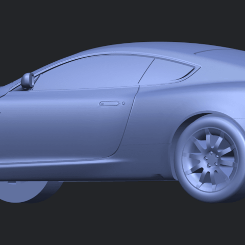 TDB006_1-50 ALLA02.png Download free STL file Aston Martin DB9 Coupe • 3D printer template, GeorgesNikkei
