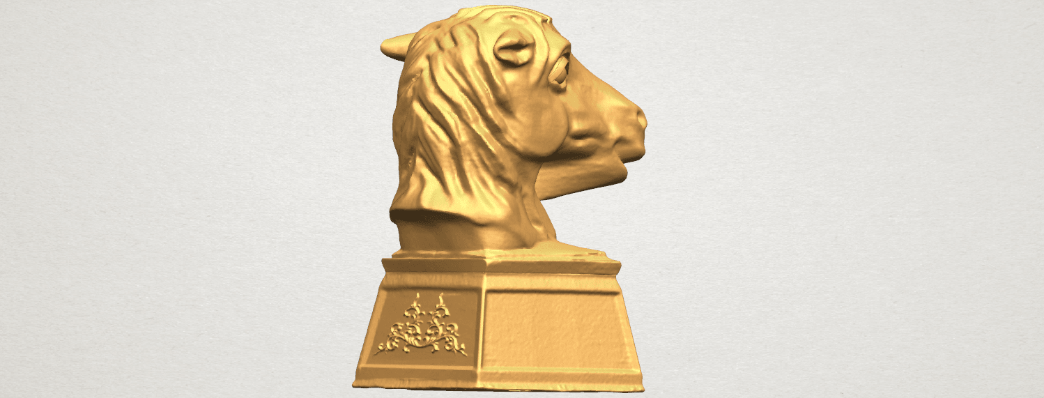 TDA0514 Chinese Horoscope of Horse 02 A05.png Download free STL file Chinese Horoscope of Horse 02 • 3D printer model, GeorgesNikkei