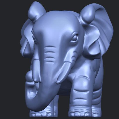 Elephant_03_-122mmB02.png Download free STL file Elephant 03 • 3D printable design, GeorgesNikkei