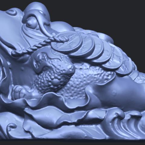 21_TDA0336_The_Golden_ToadB01.png Download free STL file The Golden Toad • 3D printer design, GeorgesNikkei