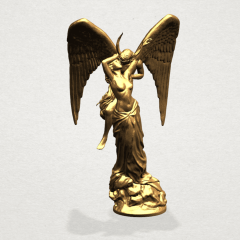 Angel and devil - C08.png Download free 3DS file Angel and devil • 3D print template, GeorgesNikkei