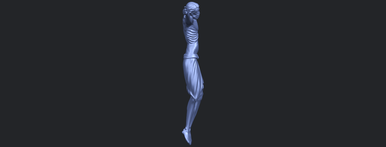 17_TDA0233_Jesus_iv_88mmB09.png Download free STL file Jesus 04 • Template to 3D print, GeorgesNikkei
