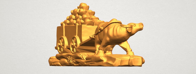TDA0315 Golden Car A07.png Download free STL file Golden Car • 3D printer template, GeorgesNikkei