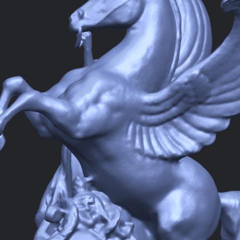 10_Horse_(v)_88.3mmA10.png Télécharger fichier STL gratuit Cheval 05 • Plan pour impression 3D, GeorgesNikkei