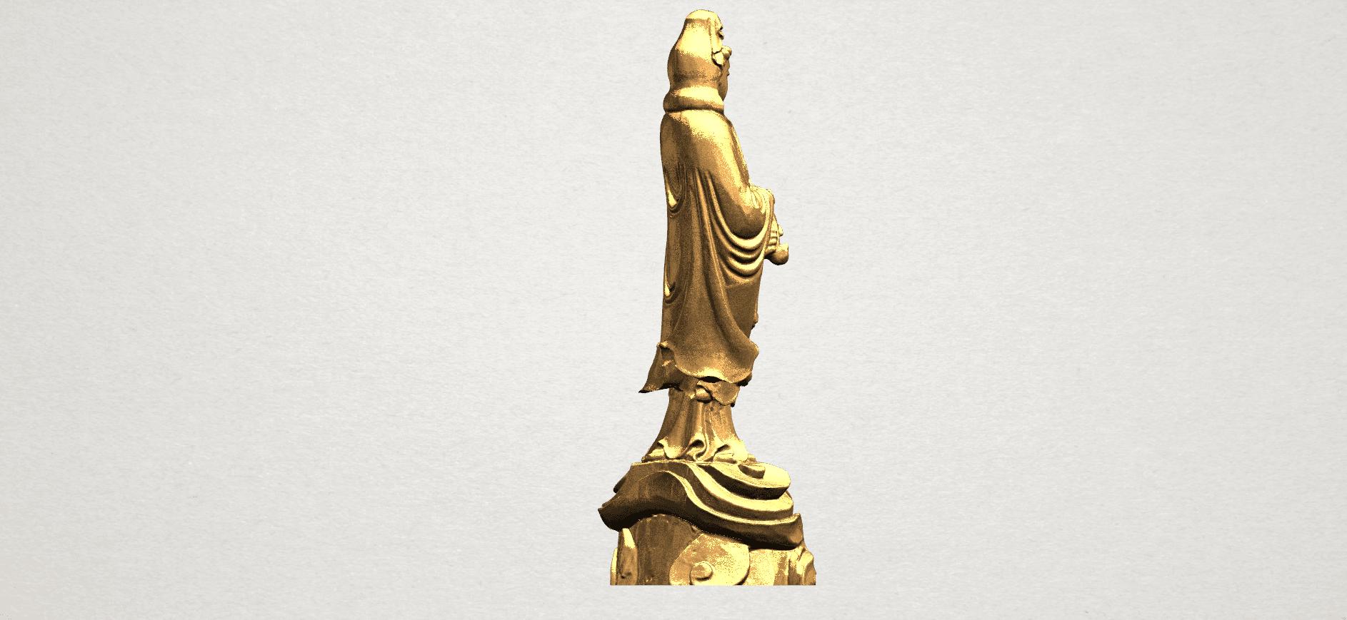 Avalokitesvara Buddha - Standing (iv) A06.png Download free STL file Avalokitesvara Buddha - Standing 04 • 3D print template, GeorgesNikkei