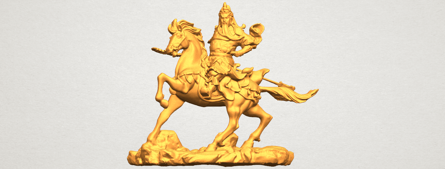 TDA0331 Guan Gong (iv) A07.png Download free STL file Guan Gong 04 • Template to 3D print, GeorgesNikkei
