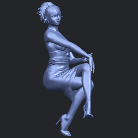 16_TDA0666_Naked_Girl_H04B03.png Download free STL file Naked Girl H04 • 3D printing object, GeorgesNikkei