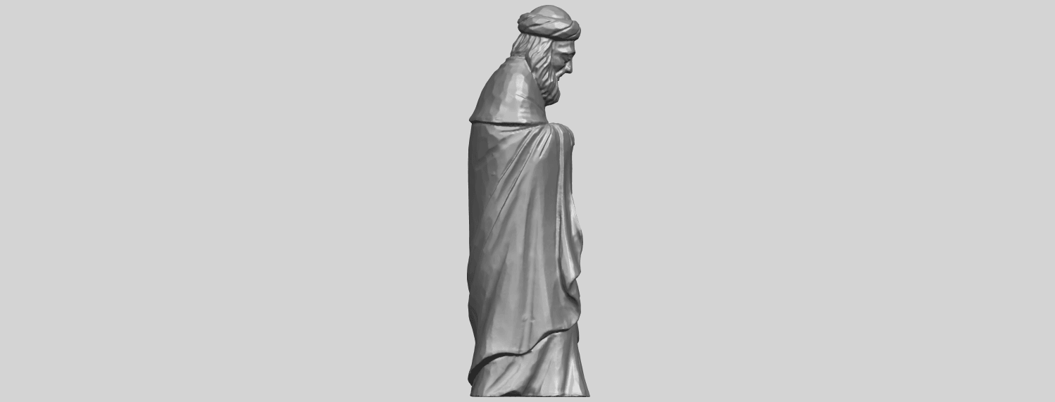 26_Sculpture_of_Arabian_88mm-A08.png Download free STL file Sculpture of Arabian • 3D print template, GeorgesNikkei