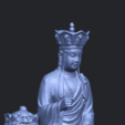 Télécharger fichier STL gratuit Avalokitesvara Bodhisattva - S'asseoir sur le Lion, GeorgesNikkei