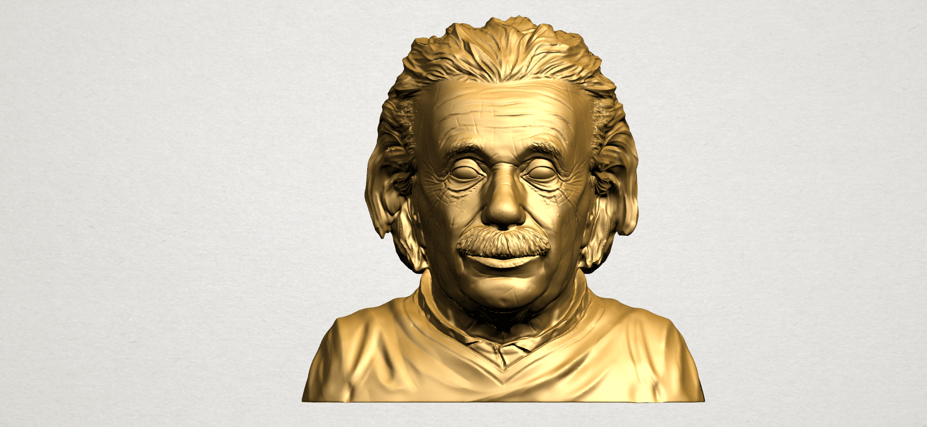 Einstein B01.png Download free STL file Einstein • 3D printer template, GeorgesNikkei