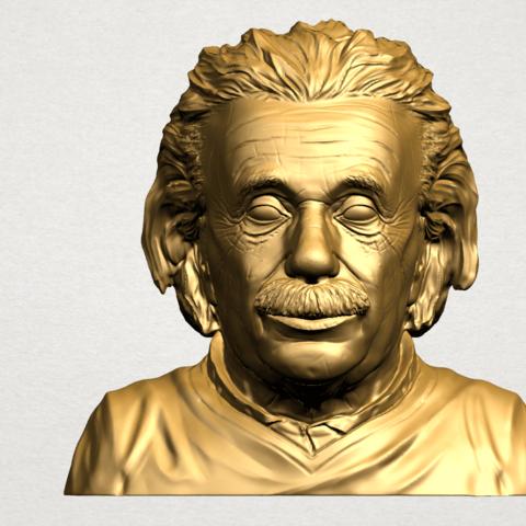 Einstein B01.png Télécharger fichier STL gratuit Einstein • Objet à imprimer en 3D, GeorgesNikkei