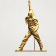 Statue of Freddie Mercury A02.png Download free STL file Statue of Freddie Mercury • 3D printable template, GeorgesNikkei