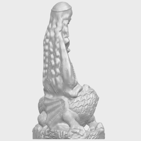 St Margaret 88mmA08.png Download free STL file Saint Margaret  • Template to 3D print, GeorgesNikkei