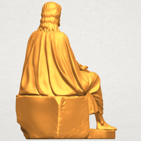 A05.png Download free STL file Jesus 06 • 3D printer object, GeorgesNikkei