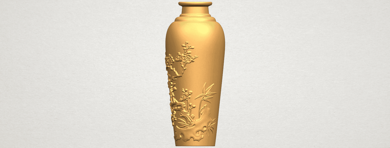 TDA0498 Vase 01 A03.png Télécharger fichier STL gratuit Vase 01 • Modèle pour impression 3D, GeorgesNikkei