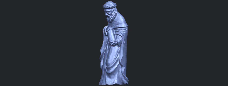26_Sculpture_of_Arabian_88mm-B02.png Download free STL file Sculpture of Arabian • 3D print template, GeorgesNikkei