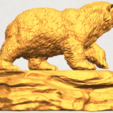 Download free STL files Bear 01, GeorgesNikkei