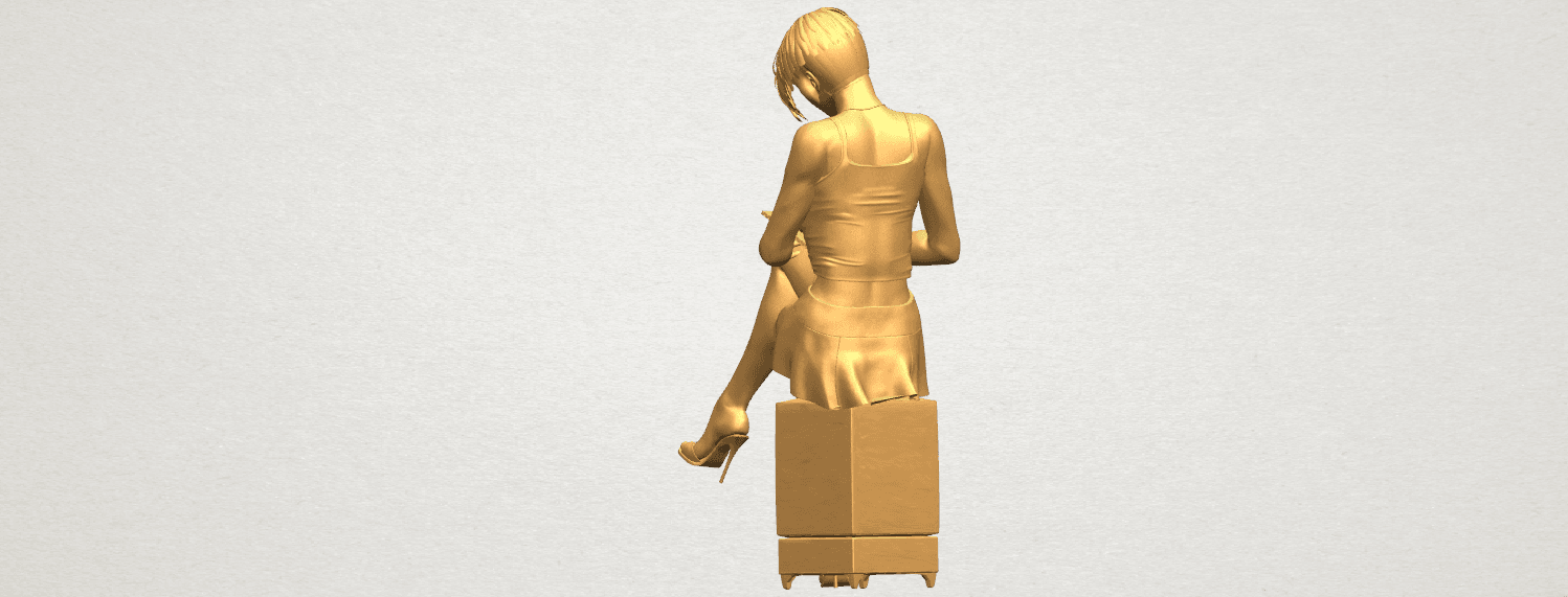 TDA0471 Beautiful Girl 05 A04.png Download free STL file Beautiful Girl 05 • 3D printing template, GeorgesNikkei