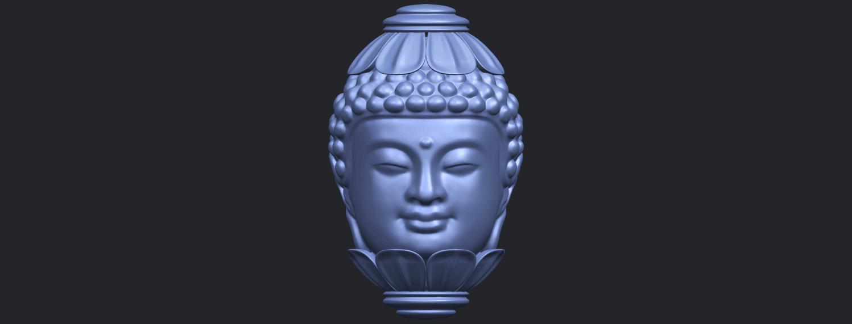 11_Buddha_Head_Sculpture_80mmB01.png Download free STL file Buddha - Head Sculpture • 3D printing model, GeorgesNikkei
