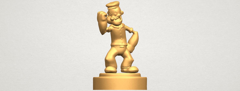 TDA0482 Popeye A01 ex800.png Download free STL file Popeye • 3D printer design, GeorgesNikkei