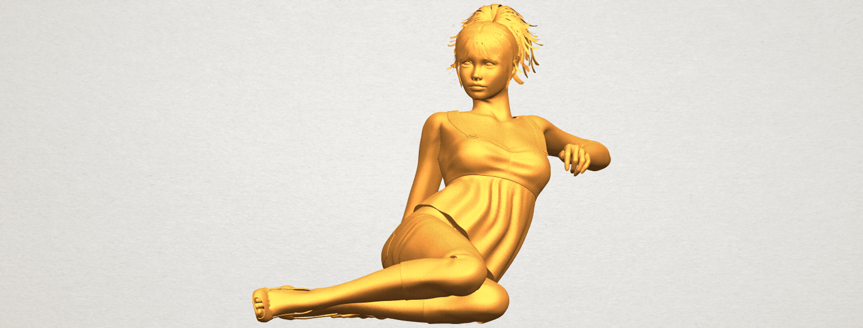A01.png Télécharger fichier STL gratuit Fille Nue F06 • Modèle pour impression 3D, GeorgesNikkei