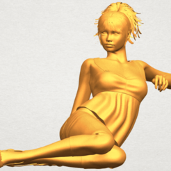 Download free 3D printer templates Naked Girl F06, GeorgesNikkei