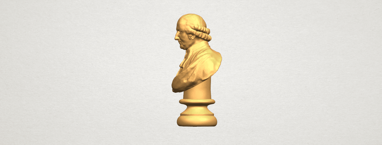 TDA0620 Sculpture of a head of man 02 A03.png Télécharger fichier STL gratuit Sculpture d'une tête d'homme 02 • Design à imprimer en 3D, GeorgesNikkei
