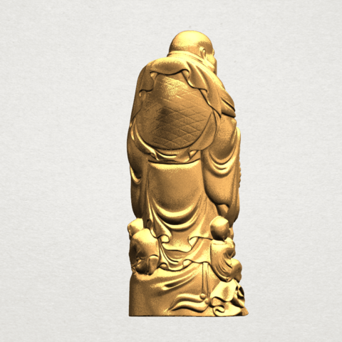TDA0070 Metteyya Buddha 03 - 88mm - A06.png Download free STL file Metteyya Buddha 03 • 3D printing object, GeorgesNikkei