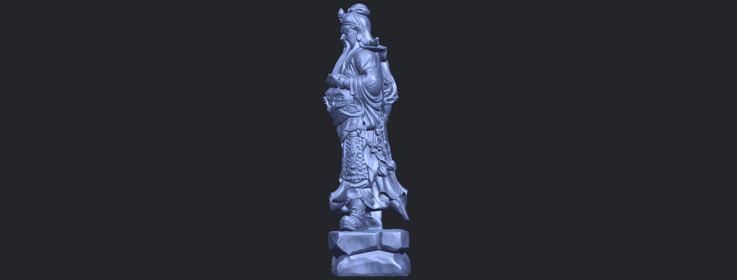 03_TDA0330_Guan_Gong_iiiB04.png Download free STL file Guan Gong 03 • 3D printable template, GeorgesNikkei