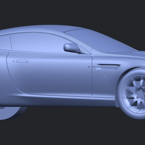 TDB006_1-50 ALLA07.png Download free STL file Aston Martin DB9 Coupe • 3D printer template, GeorgesNikkei