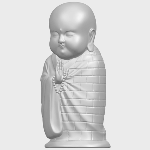 Little_Monk_80mmA02.png Download free STL file Little Monk 01 • 3D printable design, GeorgesNikkei