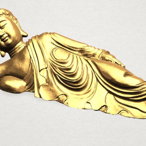 Sleeping Buddha (i) A08.png Download free STL file Sleeping Buddha 01 • 3D printable design, GeorgesNikkei