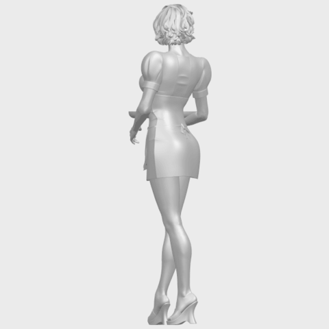 07_TDA0475_Beautiful_Girl_09_WaitressA06.png Download free STL file Beautiful Girl 09 Waitress • 3D printable object, GeorgesNikkei