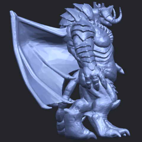 18_TDA0217_Monster_iB09.png Download free STL file Monster 01 • 3D printable template, GeorgesNikkei
