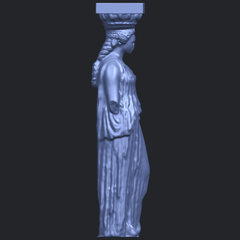 19_Pose_with_Girl_80mmB09.png Download free STL file Pose with Girl • 3D printable template, GeorgesNikkei