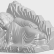 Download free 3D printer model Sleeping Buddha 03, GeorgesNikkei