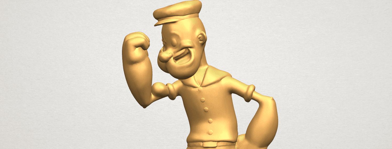 TDA0482 Popeye A08.png Download free STL file Popeye • 3D printer design, GeorgesNikkei