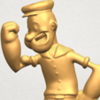 Free 3D printer model Popeye, GeorgesNikkei