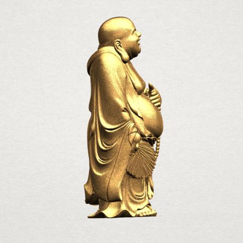 TDA0070 Metteyya Buddha 01 - 88mm - A05.png Download free STL file Metteyya Buddha 01 • 3D print object, GeorgesNikkei