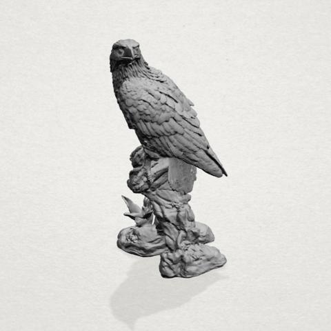 eagle - A02.png Download free STL file Eagle 01 • 3D printing design, GeorgesNikkei