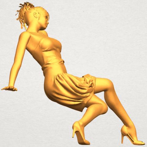 A09.png Télécharger fichier STL gratuit Fille nue G09 • Design pour impression 3D, GeorgesNikkei