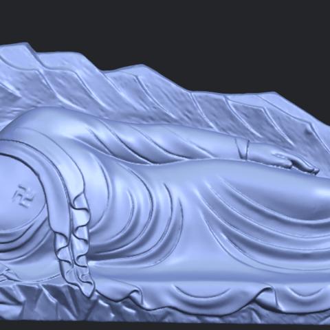 05_TDA0295_Sleeping_Buddha_iiiB01.png Télécharger fichier STL gratuit Bouddha Dormant 03 • Objet à imprimer en 3D, GeorgesNikkei